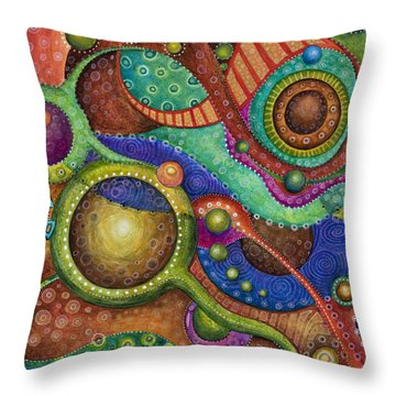 Voyage Throw Pillow by Tanielle Childers
