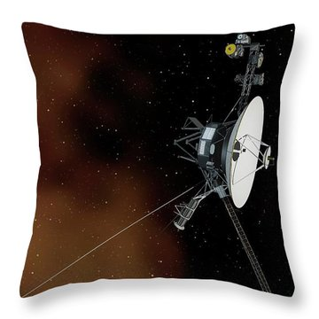 Interstellar Space Throw Pillows