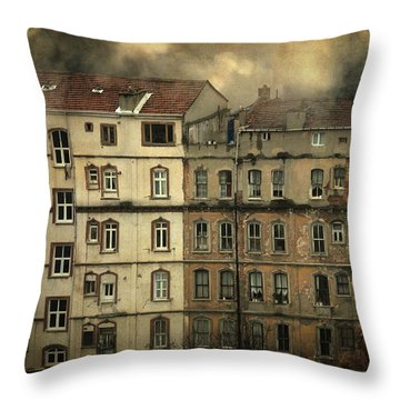 Voyeur Throw Pillow by Taylan Apukovska