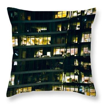 Throw Pillow featuring the photograph Voyeuristic Work Cclxvii by Amyn Nasser