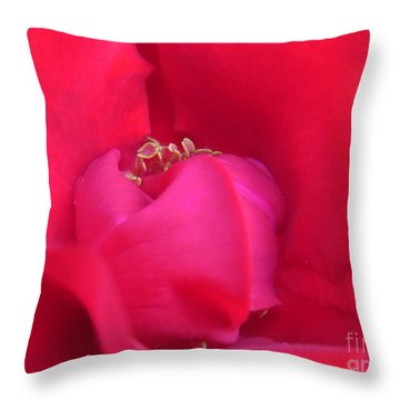 Vulnerable Throw Pillow