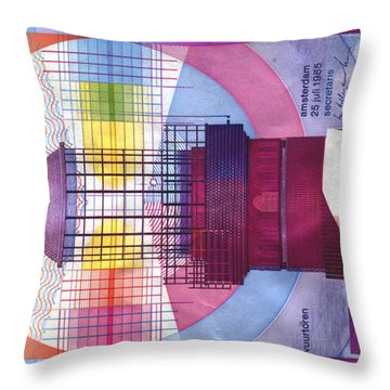 Vuurtoren Throw Pillow