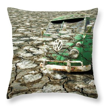 Vw Micro Mirage Throw Pillow by Steve McKinzie