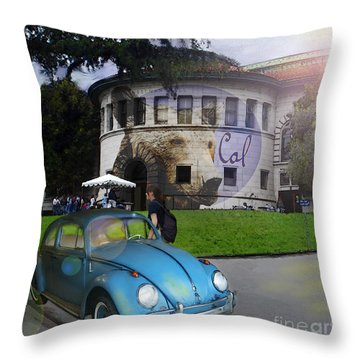 Vw - Uc Berkeley Throw Pillow