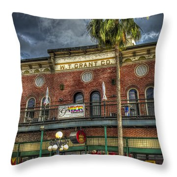 W. T. Grant Co. Throw Pillow by Marvin Spates