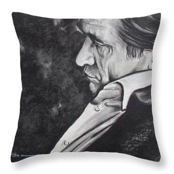 W W J D Throw Pillow by Eric Dee