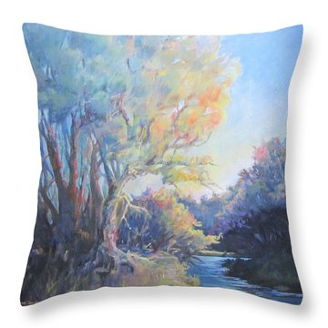 Waccamaw Morning Throw Pillow