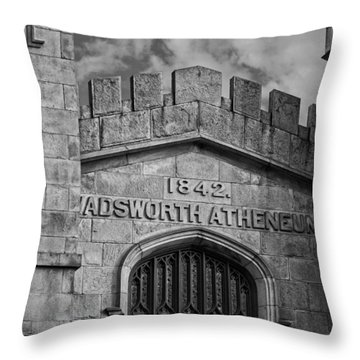 Wadsworth Atheneum Throw Pillow