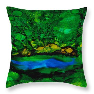 Waialeale Throw Pillow