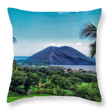 Wailea Golf 6 Throw Pillow