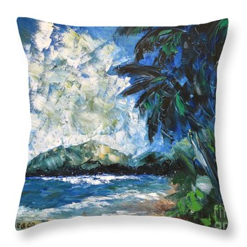 Waimanalo Throw Pillow