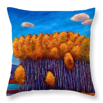 Wait And See Throw Pillow