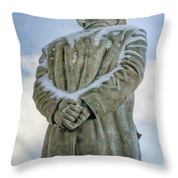 Wait Till Next Year Throw Pillow by Joan Carroll