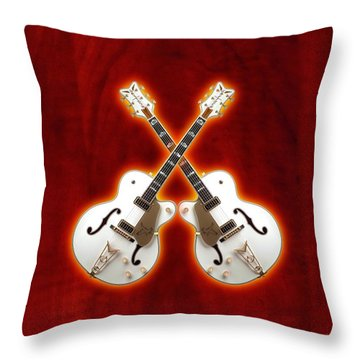 Waite Gretsch Throw Pillow by Doron Mafdoos