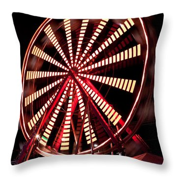 Waiting A Turn Throw Pillow