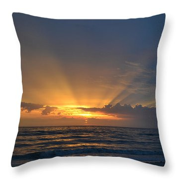 Throw Pillow featuring the photograph Waiting For Me by Melanie Moraga