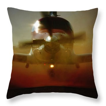 Throw Pillow featuring the photograph Waiting For Mercy by Paul Job