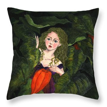 Waiting For Secret Lover Throw Pillow