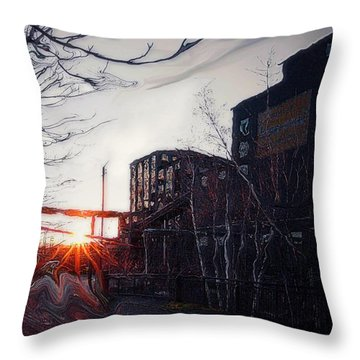 Waiting For Spring... Throw Pillow