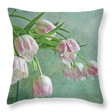 Waiting For Spring Throw Pillow by Claudia Moeckel