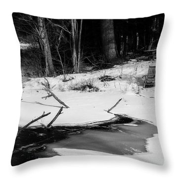 Waiting For Summer Throw Pillow by Alana Ranney