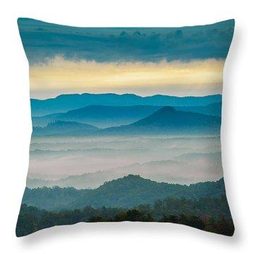 Waiting For The Sun Throw Pillow by Joye Ardyn Durham
