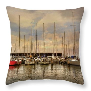 Waiting For The Weekend Throw Pillow
