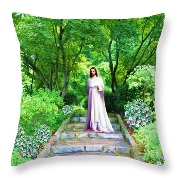 Waiting For You Throw Pillow by Susanna Katherine