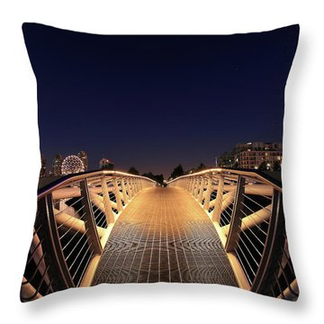 False Creek Throw Pillows