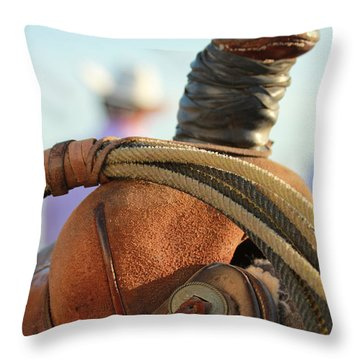 Waiting Game Throw Pillow