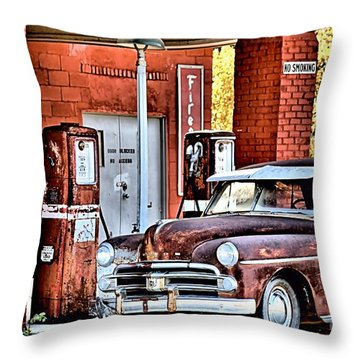 Waiting.... Throw Pillow by Joe Russell