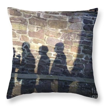 Throw Pillow featuring the photograph Waiting  by Lyric Lucas