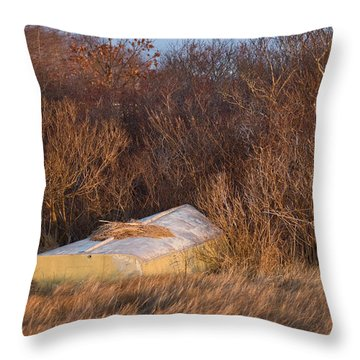 Waiting On Spring Throw Pillow