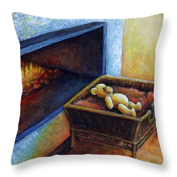 Waiting To Be Loved Throw Pillow