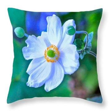 Flower 13 Throw Pillow