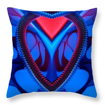 Throw Pillow featuring the photograph Waiting by Trena Mara