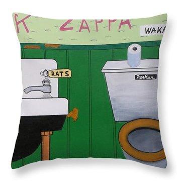 Waka/jawaka Throw Pillow