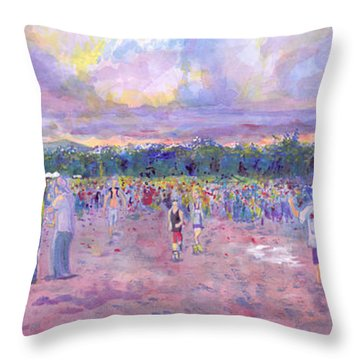 Wakarusa Gogol Bordello Throw Pillow