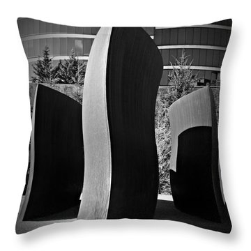 Wake 4 Throw Pillow by Chalet Roome-Rigdon