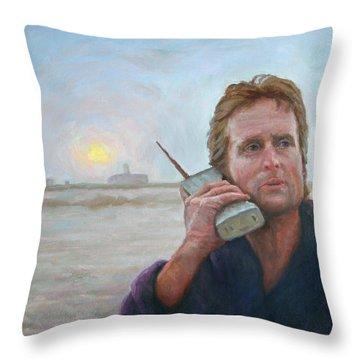 Wake Up Call Throw Pillow