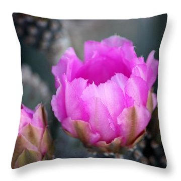 Waking Throw Pillow