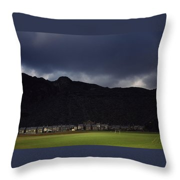 Wales Throw Pillow by Shaun Higson