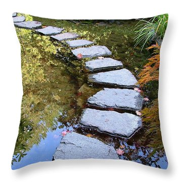 Walk On Water Throw Pillow