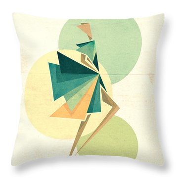 Walk The Walk Throw Pillow by VessDSign
