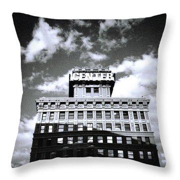 Walker Building Throw Pillow