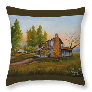 Walker Homeplace #3 Throw Pillow