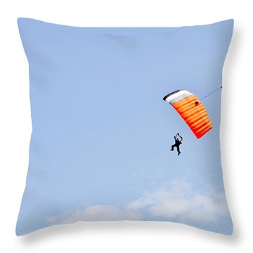 Walking On Air Throw Pillow