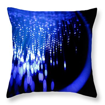 Throw Pillow featuring the photograph Walking On The Moon by Dazzle Zazz