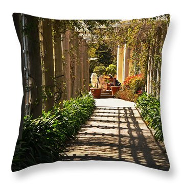 Walkway Throw Pillow