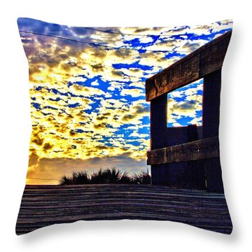 Walkway To Heaven Throw Pillow